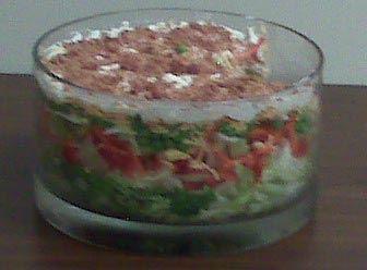 Seven Layer Salad Light