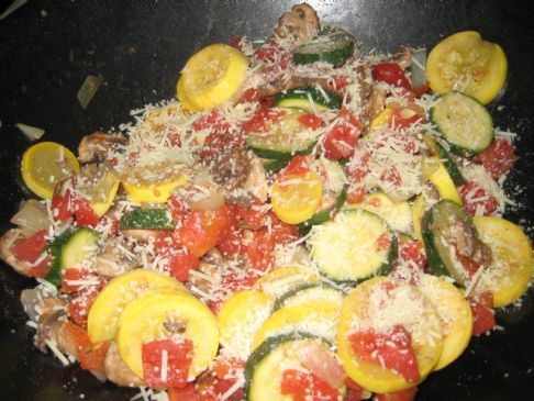 Zucchini, Squash & Tomato Mix