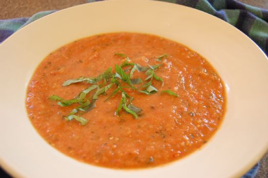 Rustic Tomato Herb Soup