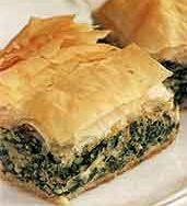 Spinach-Cheese Pie, Lite