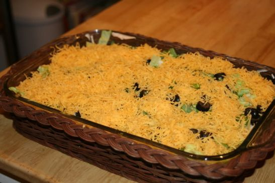 7 Layer Dip **Low Fat