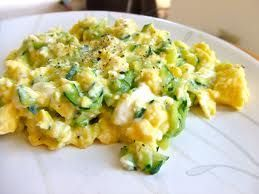 Cheesy Zuchinni & Cheese