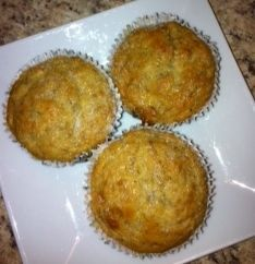 Banana Muffins - Low Fat