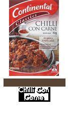 Chilli Con Carne (Continental Meal Base)