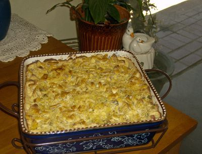 Pasta, Ham and Cheese Casserole
