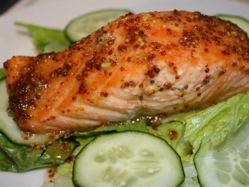 Mustard Roasted Salmon (2)