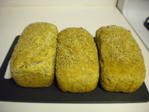Whole Wheat Homemade bread (EASY)
