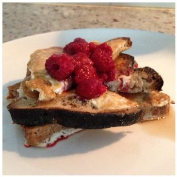 Summer's Healthy French Toast