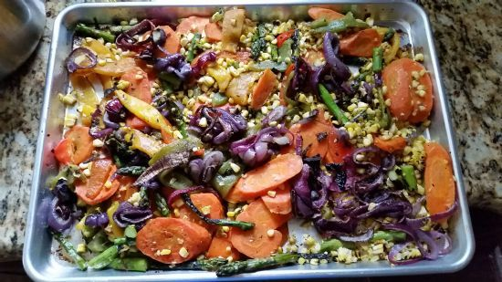 Roasted Vegetables  (Oven and Stove Top)