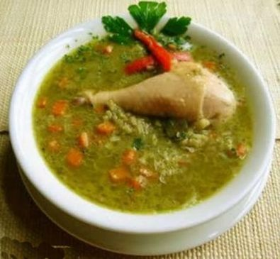 Aguadito de pollo peruvian chicken rice soup recipe aguadito de pollo peruvian chicken rice soup forumfinder Image collections