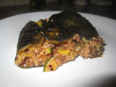 Cajun Stuffed Poblano Peppers