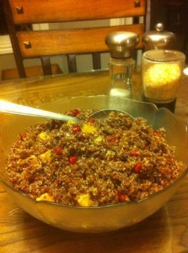 Quinoa Pomegranate and Orange Salad