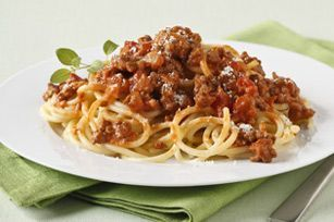 Spaghetti with Zesty Bolognese