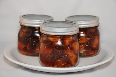 Bourbon Chicken for Canning