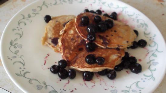 Whole Wheat and Oatmeal Pancakes
