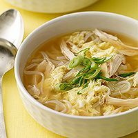 Egg Drop Soup with Chicken & Noodles