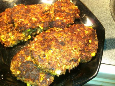 Vegan Wild Rice Patties