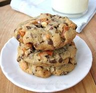 Pretzel-Scotch Cookies