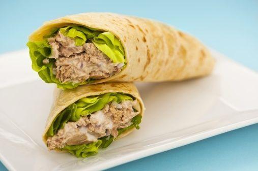 Crunchy Tuna Wrap