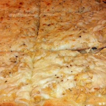 Parmesan Chicken Flat Bread