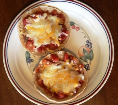 Mexican Pizza Mini Meal or Snack
