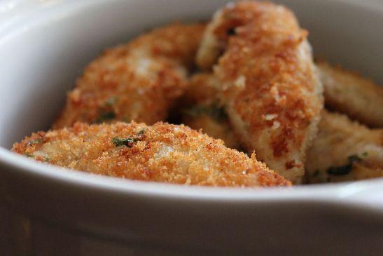 Parmesan-Crusted Turkey Tenders