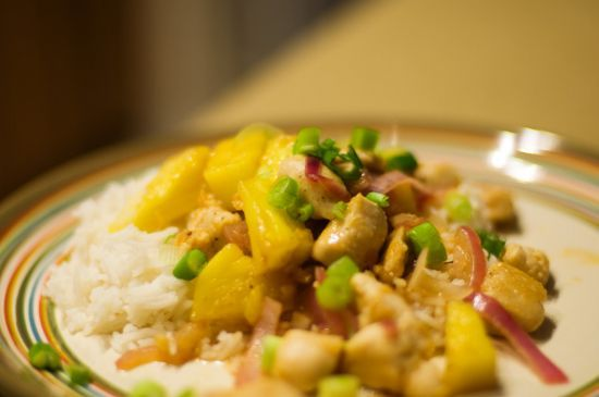 Pineapple Chicken stirfry