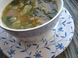 Lentil Soup with Chard and Lemon