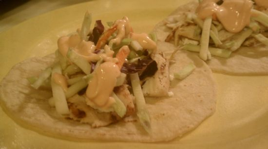 Sea Monkey Restaurant - Grilled Fish Tacos