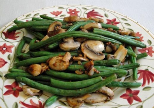 Jamie's Sauted Green Beans