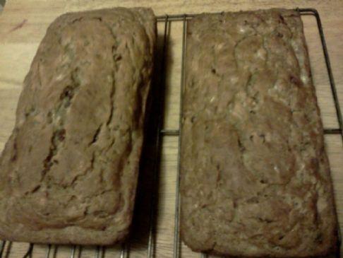 BANANA-CRANBERRY BREAD NO SUGAR ADDED,87 calories