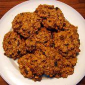 Honey Nut Breakfast Cookies