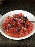 Fresh Mint Watermelon Salad