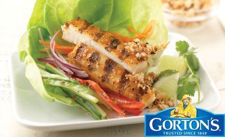 Thai Style Tilapia Wraps from Gorton's®