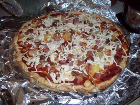 Gluten-Free Dairy-Free Hawaiian Pizza