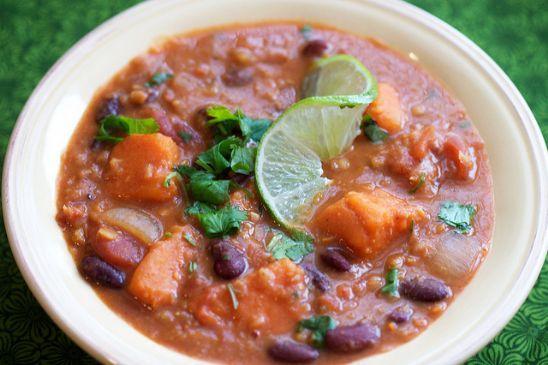 Thai Curry Red Lentil Chili