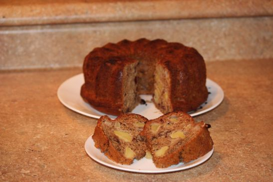 apple cranberry sauce cake