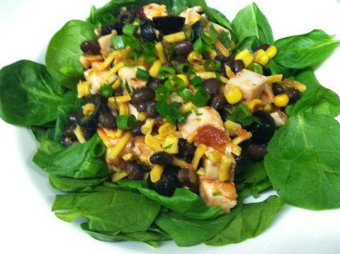 Southwest Salsa Chicken Salad