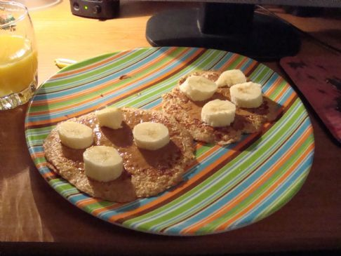Jessica's Flavored Oatmeal Pancakes