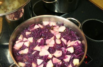 Sweet-and Sour Red Cabbage