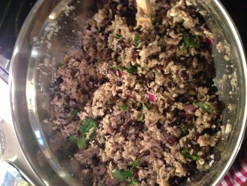 Cauliflower Rice with Black Beans