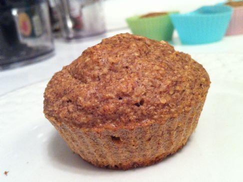 dukan cinnamon oatbran muffins