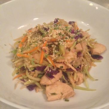 Chicken Cabbage Chow