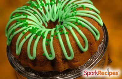 Leprechaun Bundt Cake
