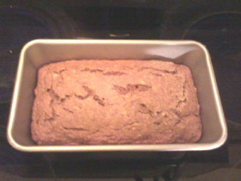 Pastel de platano y wheat bran