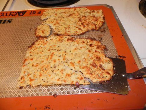 Cauliflower & Coconut Flour Pizza Crust