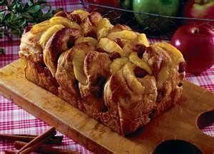 Apple sausage Bread