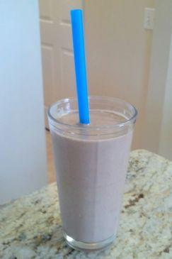 Chocolate Protein Shake (no sugar, no protein powder)