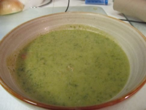 Potato, Sausage and Spinach Soup