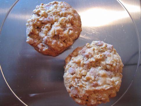 Hershey's Oatmeal Cinnamon Chip Cookies (1 serving = 1 cookie [24g])